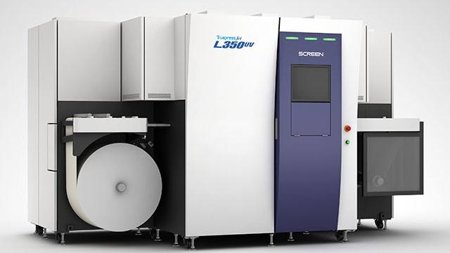 Screen Truepress Jet L350 UV Inkjet Label Printing System
